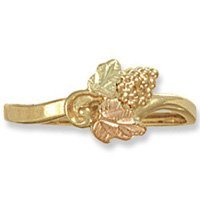Black Hills Gold Bunch Of Grapes Ladies Ring