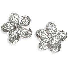 .925 Silver Flower Earrings Landstroms Black Hills Gold