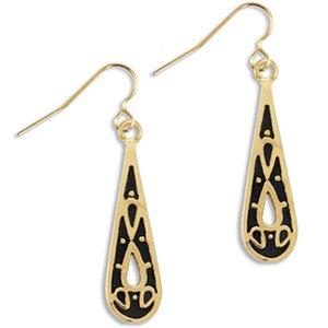 Teardrop Hook Earrings Landstrom's Black Hills Gold