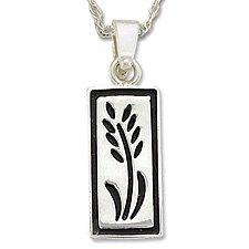 Wheat Silver Necklace Landstrom's Black Hills Gold