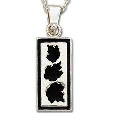 3 Leaf Silver Necklace Landstrom's Black Hills Gold