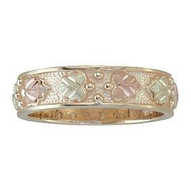 Black Hills Gold Ring Ladies Wedding Band