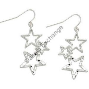 Three Stars Earrings By Landstroms Black Hills Gold
