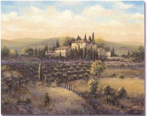 "Limited Edition giclee Joe Sambataro's ""Arezzo"""