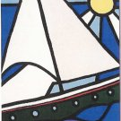 Limited Edition giclee Fernando Allende&#39;s &quot;Sailboat & Sun&quot;