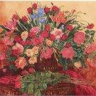 "Limited Edition giclee Wanda Kippenbrock's ""Season's Scarlet Rose"""
