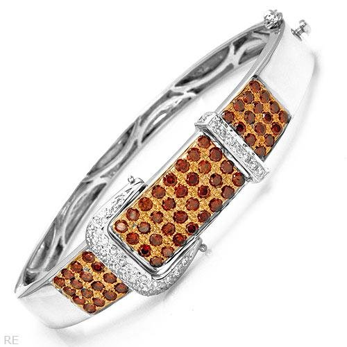 Luxurious Bracelet with 3.50ctw Genuine Clean Diamonds