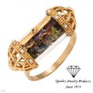 Gorgeous Ring With Precious Stones
