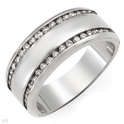 Beautiful Ring With 0.50ctw Genuine Diamonds