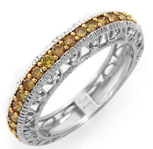 Irresistible Ring w/1.11ctw Diamonds in 14K White Gold