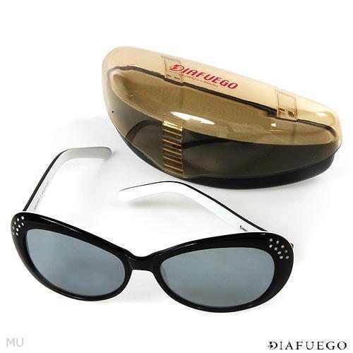 DIAFUEGO Sunglasses With Genuine Clean Diamonds Retails for $500.00