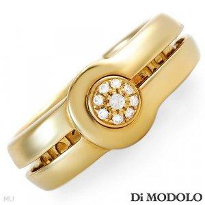 New DI MODOLO! Ring .06ctw Super Clean G/VS Diamonds