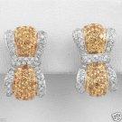 New Earrings w/2.36ctw Diamonds & Sapphires