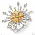 Terrific 1.87ctw Genuine Clean Diamonds Ring