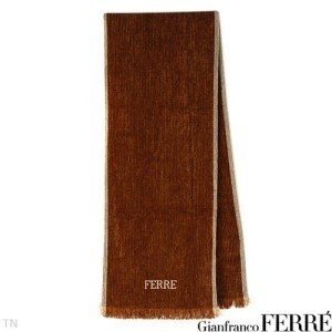 Authentiic Gianfranco Ferre Scarf 75% Acrylic  25% Silk