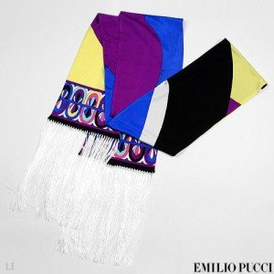 New Authentiic Emilio Pucci Scarf 100% Silk