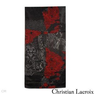 New Authentiic Christian LaCroix Scarf 18%Wool,82% Silk