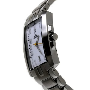 National Geographic Canyon Gents SS/White Dial