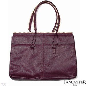 New Authentic LANCASTER Tote Genuine Calf