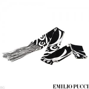 New & Authentic EMILIO PUCCI! Made in ITALY 100% Silk Scarf