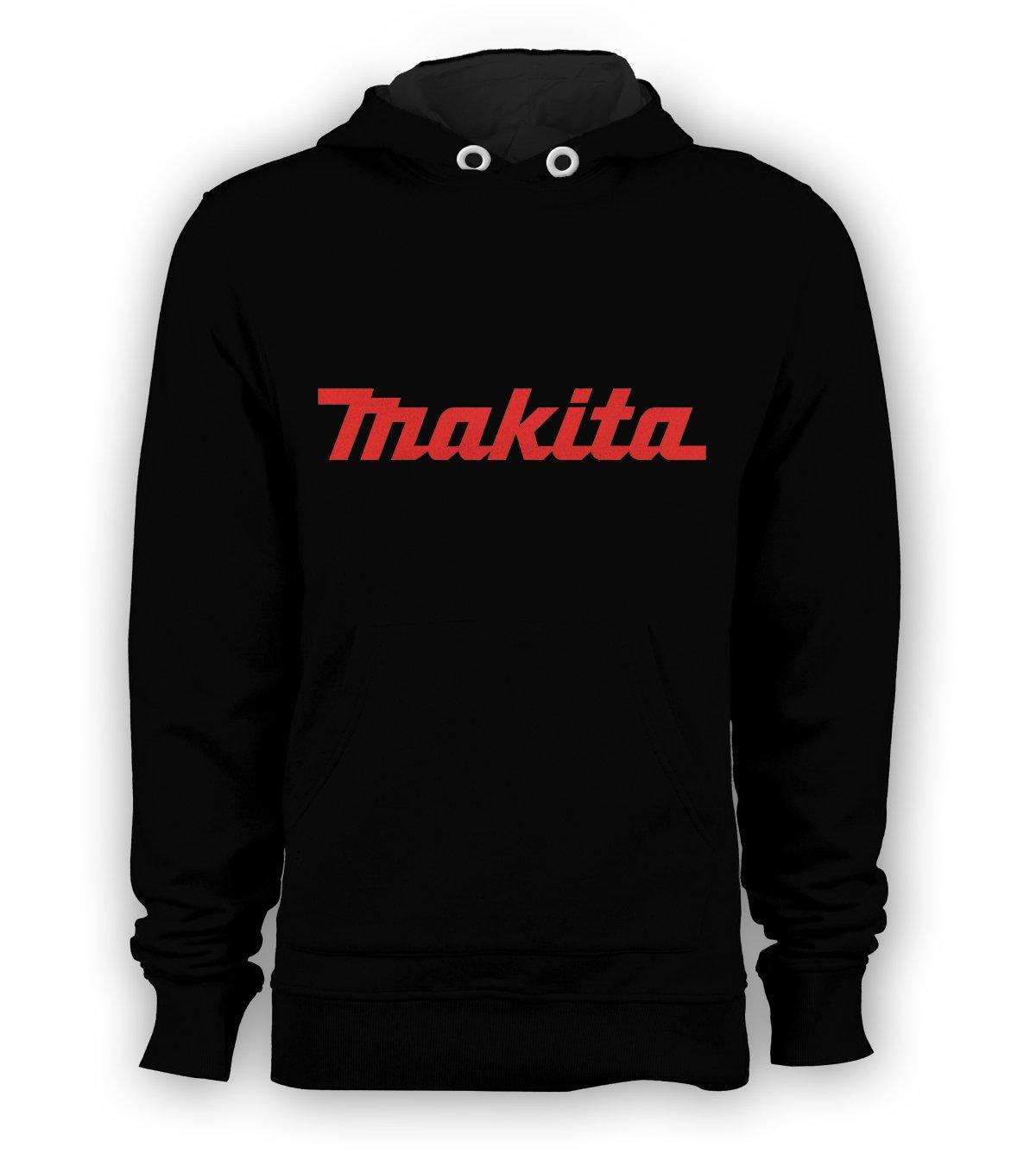 Makita Tool Logo Pullover Hoodie Men Sweatshirts Size S to 3XL New Black