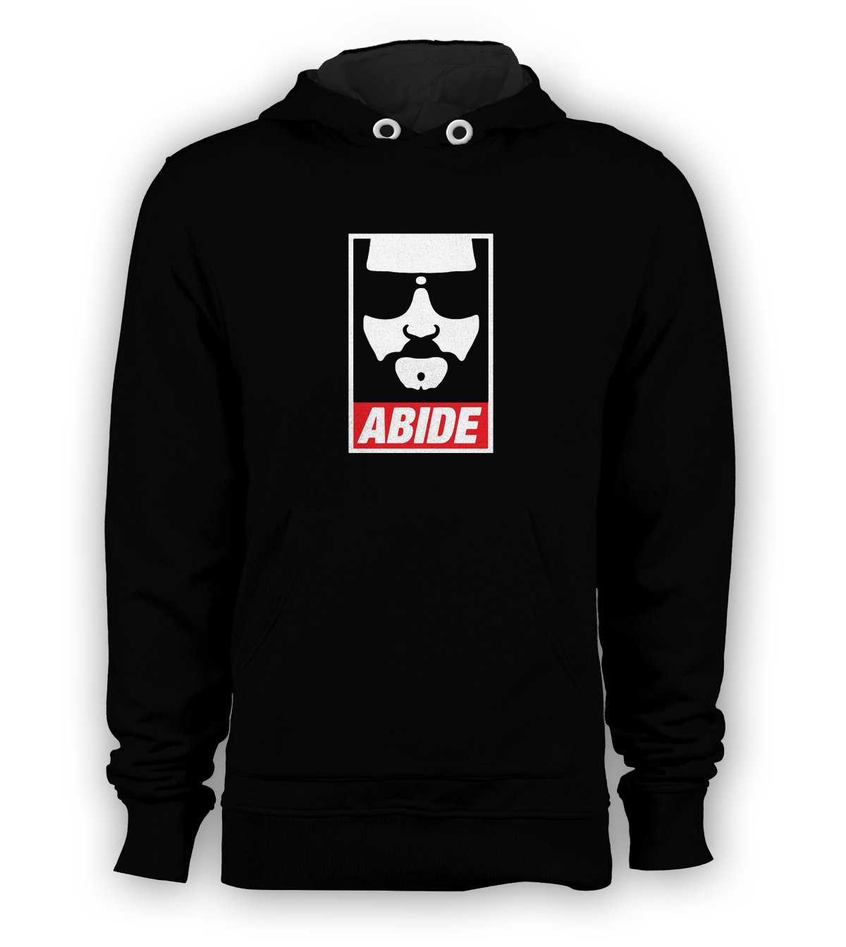 Abide Big Face Lebowski Pullover Hoodie Men Sweatshirts Size S to 3XL New Black