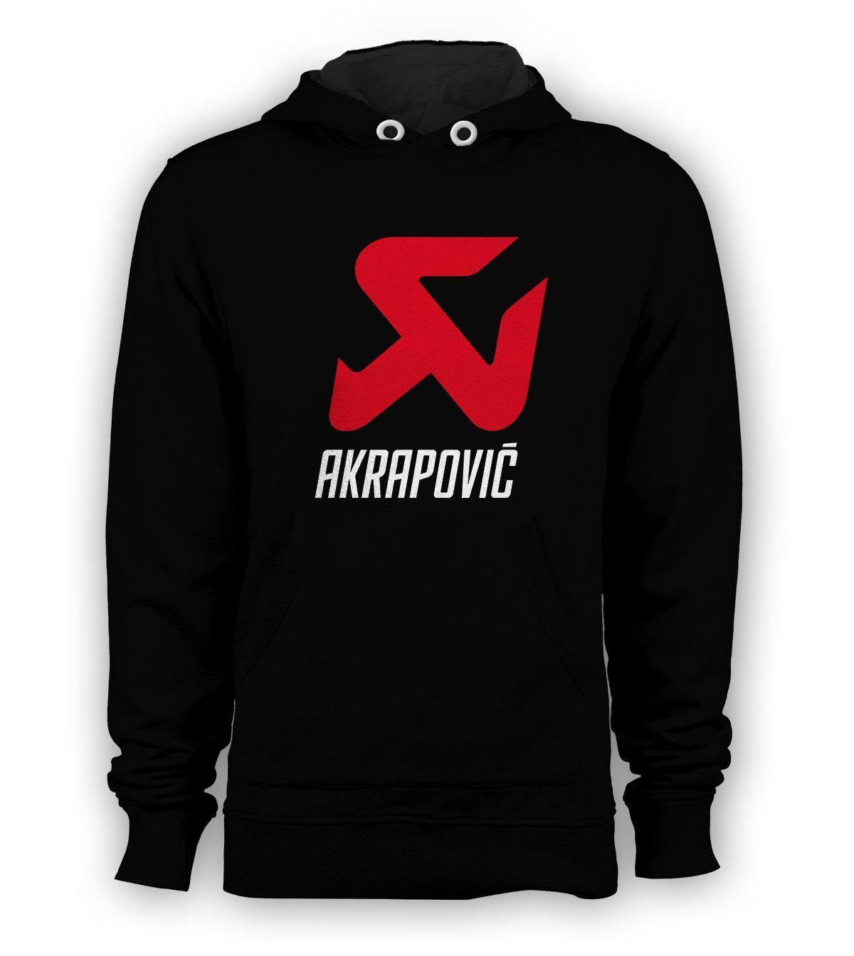 Akrapovic Exhaust Racing MotoGP Pullover Hoodie Men Sweatshirts Size S to 3XL New Black