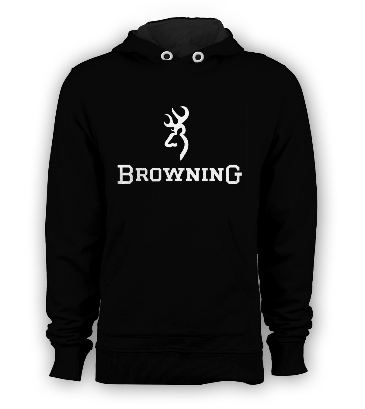 Browning Firearms Rifles Gun Pullover Hoodie Men Sweatshirts Size S to 3XL New Black