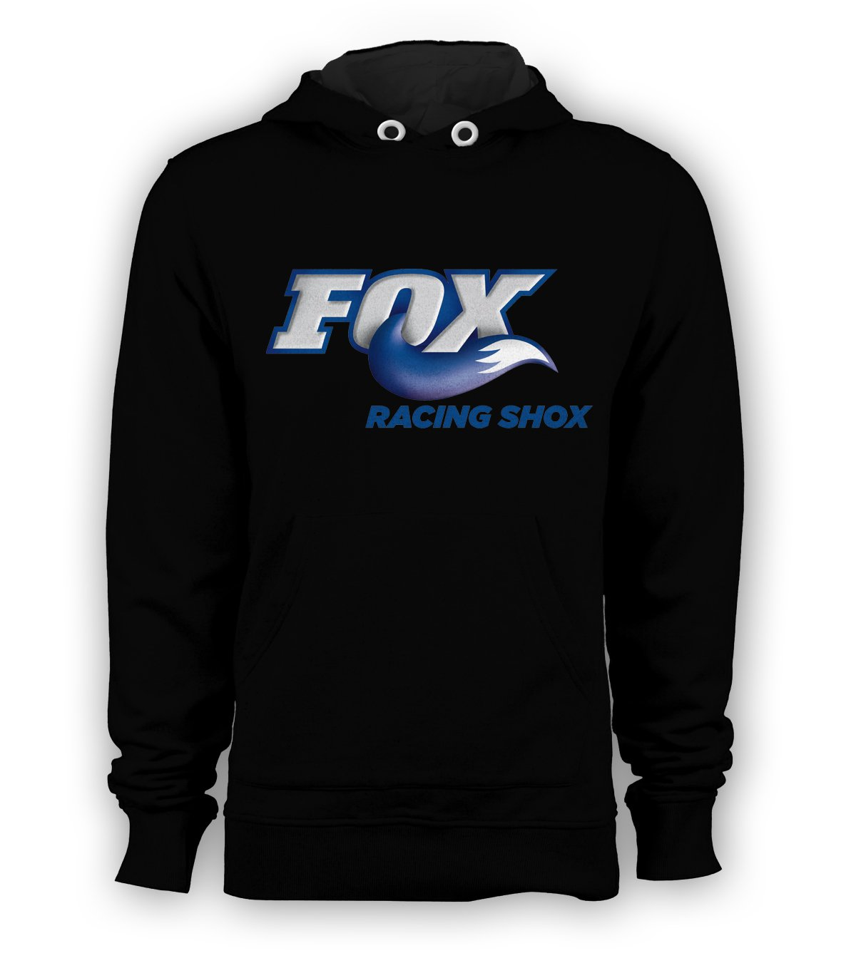 Fox Racing Shox Pullover Hoodie Men BMX Skateboard X-Games Sweatshirts Size S to 3XL New Black