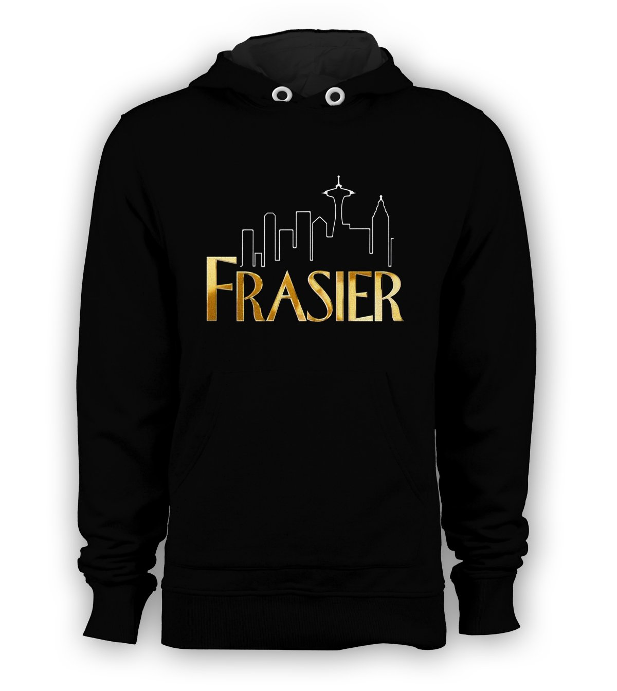Frasier Sitcom NBC Pullover Hoodie Men Sweatshirts Size S to 3XL New Black