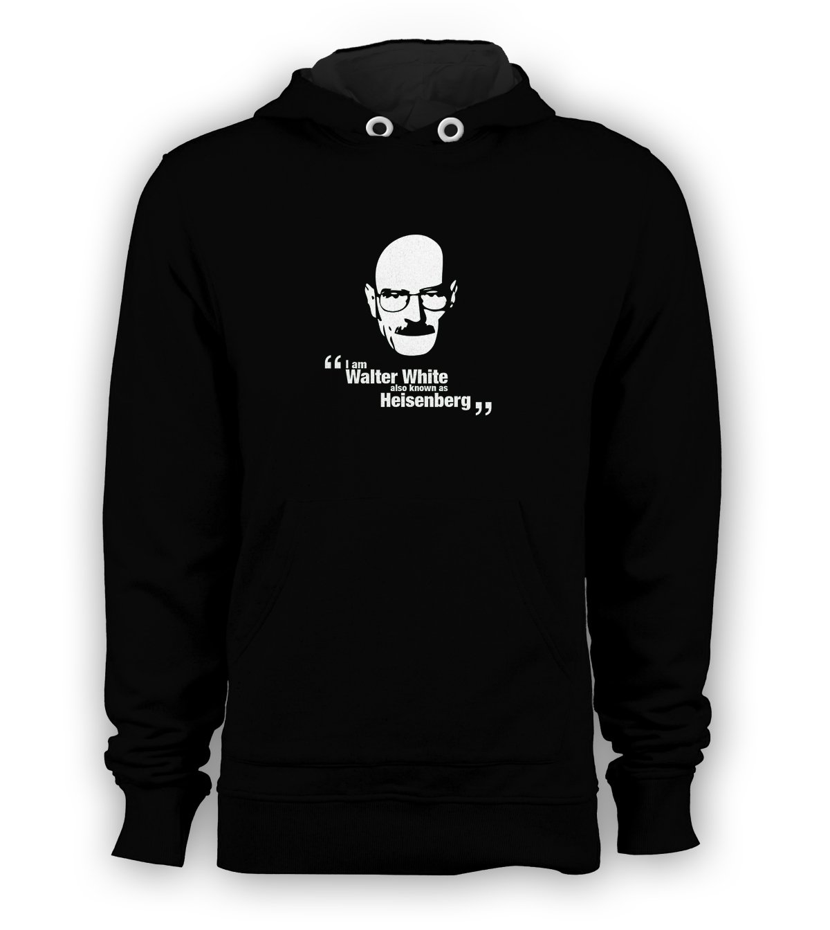 Heisenberg Walter White Pullover Hoodie Men Sweatshirts Size S to 3XL New Black