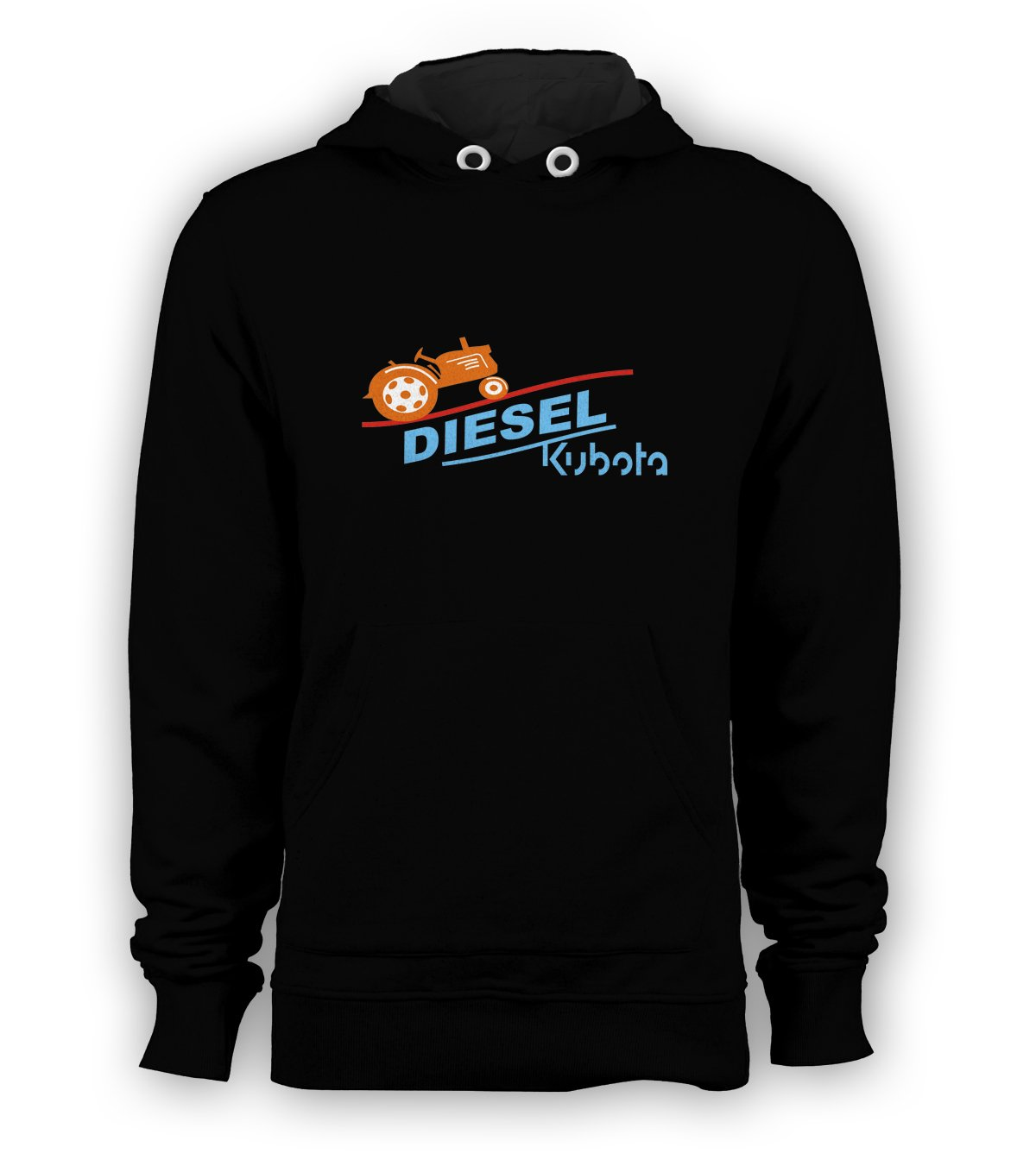 Kubota Diesel Pullover Hoodie Men Sweatshirts Size S to 3XL New Black