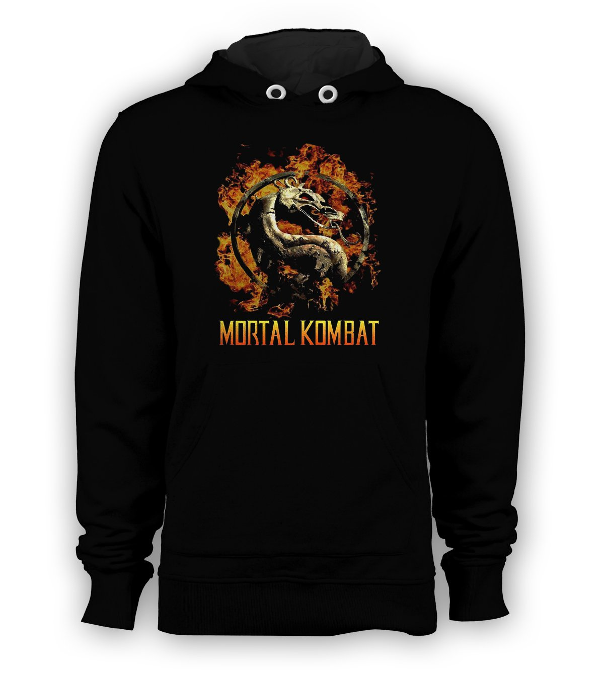 Mortal Kombat Games Pullover Hoodie Men Sweatshirts Size S to 3XL New Black