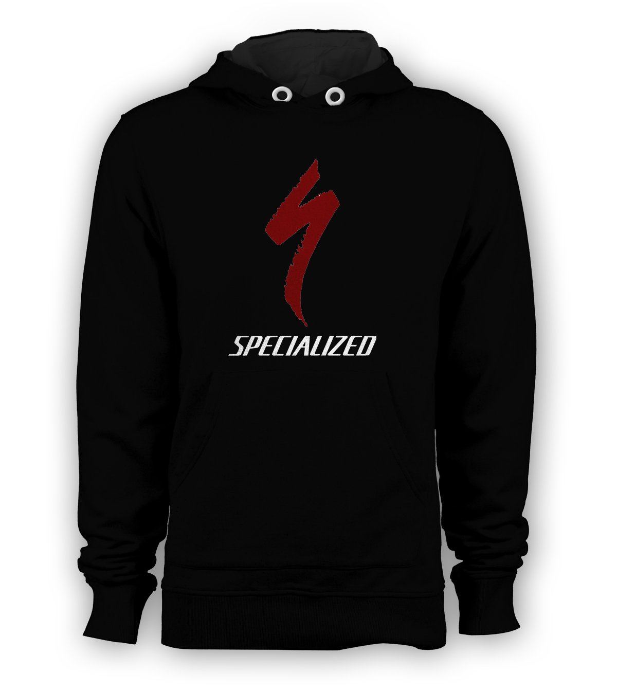 Specialized Bicycle Logo Pullover Hoodie Men Sweatshirts Size S to 3XL New Black