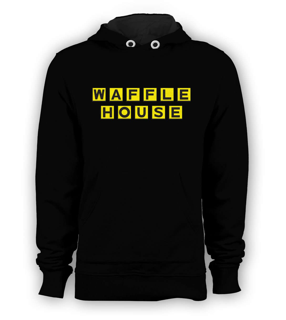 WAFFLE HOUSE Pullover Hoodie Sweatshirt Vintage logo FUNNY Cool COFFEE HOODY New