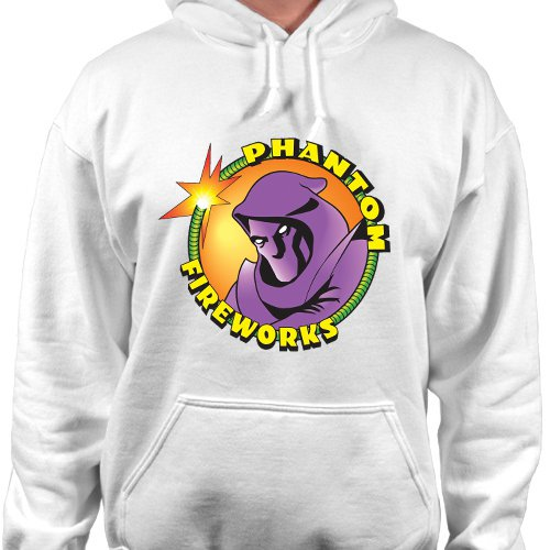 Phantom Fireworks Logo Pullover Hoodie Sweatshirt fountains firecrackers Hooded