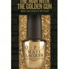 OPI SKYFALL: THE MAN WITH THE GOLDEN GUN 18 kt Nail Lacquer AUTHENTIC