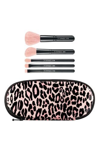 MAC PERFECTLY PLUSH ADVANCED BRUSH KIT (pink) AUTHENTIC NEW IN BOX