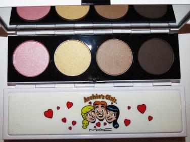 MAC BETTY--CARAMEL SUNDAE Archie's Girls EYESHADOW QUAD PALETTE AUTHENTIC NEW IN BOX
