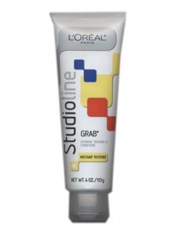 L'oreal Studio Line GRAB Instant Texture Hair Gel 4 oz. LOreal NEW tube