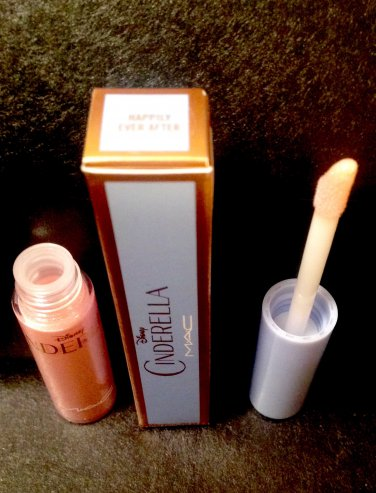 MAC Happily Ever After Lipglass CINDERELLA COLLECTION AUTHENTIC NEW IN BOX