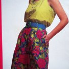 90s Tank Top Wide Leg Shorts Sizes 8 10 12 14 McCalls Easy Summer Sewing Pattern 5924