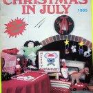 80s Vintage Crochet World 30 Patterns Christmas In July Crocheting Pattern Magazine Book Doll Baby