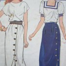 $4.00 1970s Vintage Sewing Pattern Clearance Sale Skirts Sz 8 10 12 4863