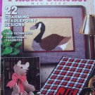 sALE $4.00 Plastic Canvas Patterns Magazine Vintage 80&#39;s Nov/Dec 1989 Wedding Country Book # 5