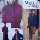Misses Vogue Sewing Pattern Career Wardrobe Jacket Top Skirt Pants Suit 6 8 10 # 2518