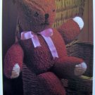 USA 1 Cent S&H Vintage Knitting Pattern Teddy Bear Stuffed Knit Toys Dolls Animals