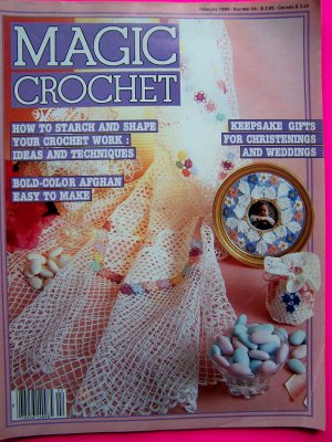Joy of Thread Crochet Patterns Christening Gown Doily + | eBay