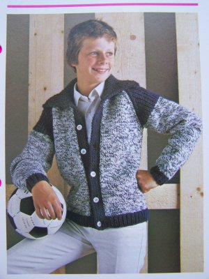 USA 1 Cent S&H Vintage Knitting Pattern Teen ...