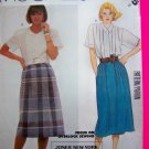 1980's Blouse & Skirt Misses Sz 8 Vintage Sewing Pattern 2375